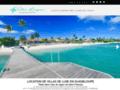 Détails :  Location de villas de luxe en Guadeloupe à Saint-François sur le lagon.