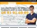 Détails : l'électricien de Villeurbanne