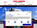 Le site internet officiel du tourisme à Londres