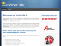 Capture du site http://vitriers-lille.fr
