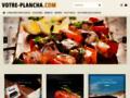 Capture du site http://www.votre-plancha.com