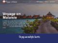 Capture du site http://www.voyage-malaisie.fr