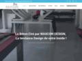 Détails : Waxcon Design le spécialiste du béton ciré