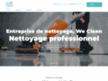 Détails : We Clean, entreprise de nettoyage multiservices