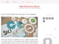 Webdirectorywatch Weblog