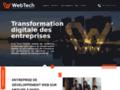 developpement web sur mesure