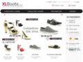 chaussures grandes tailles sur www.xlbootic.com
