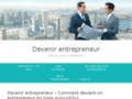 Détails : Devenir entrepreneur