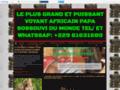 Détails : LE PLUS GRAND ET PUISSANT VOYANT AFRICAIN PAPA SOSSOUVI DU MONDE TEL/ ET WHATSSAP: +229 61631680
