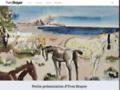 Détails : Yves-brayer : un amateur de paysages méditerranéens