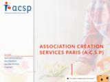 Association Creation Services Paris