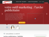 Arche-plv.com : arches publicitaires