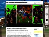 collage, art, galerie