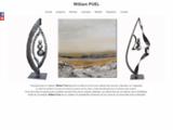 Sculpture, Abstrait, Figuratif, Luminaire, Exposition, Fer, Acier, Cotation Drouot, Millau, Atmos-fer, Puel, William