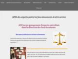 Autentiques et faux documents
