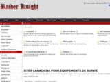 Thumb de Blog Publicitaire Raider Knight