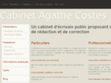 Cabinet Agathe Costes - Ecrivain public