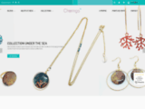 bijoux, bijoux fantaisie, résine, argent, création, créateur, artisanal, fait-main