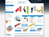Clés USB publicitaires Kelcom