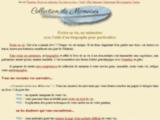 Collecteur de mémoire - Biographe familial