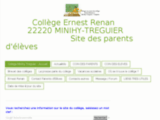 FCPE association de parents d'eleves - college ernest renan - treguier 22
