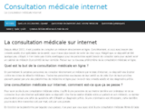 Consultation médicale internet