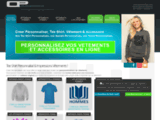 Boutique Vêtements : creer-personnaliser.com