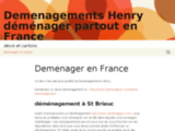 Déménagements F. Henry