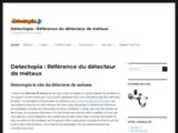 Detecteur de metaux sur detectopia.fr