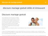 Discours de mariage gratuit