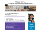 Five by Seven Show at the Arthouse