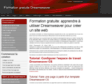 Formation gratuite Dreamweaver