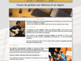 cours,guitare,valence,