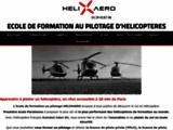 Helixaero école de pilotage hélicoptère