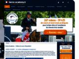 Vidéos de cours d'équitation en ligne