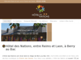 Hôtel des Nations Reims Laon à Berry au Bac