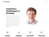 graphiste, bruxelles, webdesigner