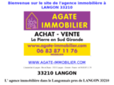 Langon immobilier 33210