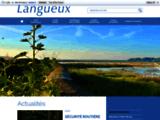 Site officiel de la ville de LANGUEUX