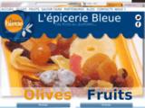 L'épicerie bleue : spécialités sur vos marchés de vendée : apéro, cuisine, dessert.