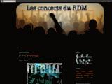 Les concerts du RDM