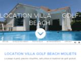 Villa dans les Landes sur le Golf de Moliets