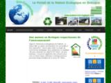 Informations sur l'Eco-construction - Construire une Maison Ecologique en Bretagne