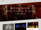 Mélanie Baladi École boutique danse orientale