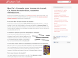 MonTaf : trouver du travail