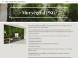 Mur vegetal PNG