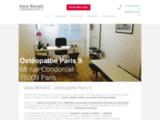 Ilana BENAÏS, Ostéopathe PARIS 9