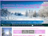 Randonnées Raquettes à neige - Mercantour