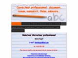 relecteur correcteur + coach en orthographe
