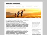 Ressources et environnement